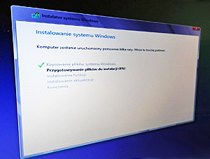 windows 8 proces instalacji