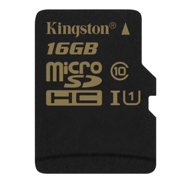 Karty pamięci Kingston micro SDHC 16GB ultra high speed cl 10 + adapter Kingston